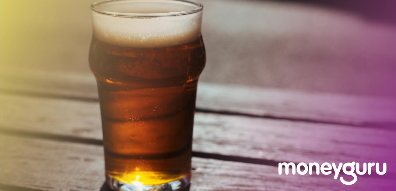 How Much Beer Does £4 Get You Around the World image