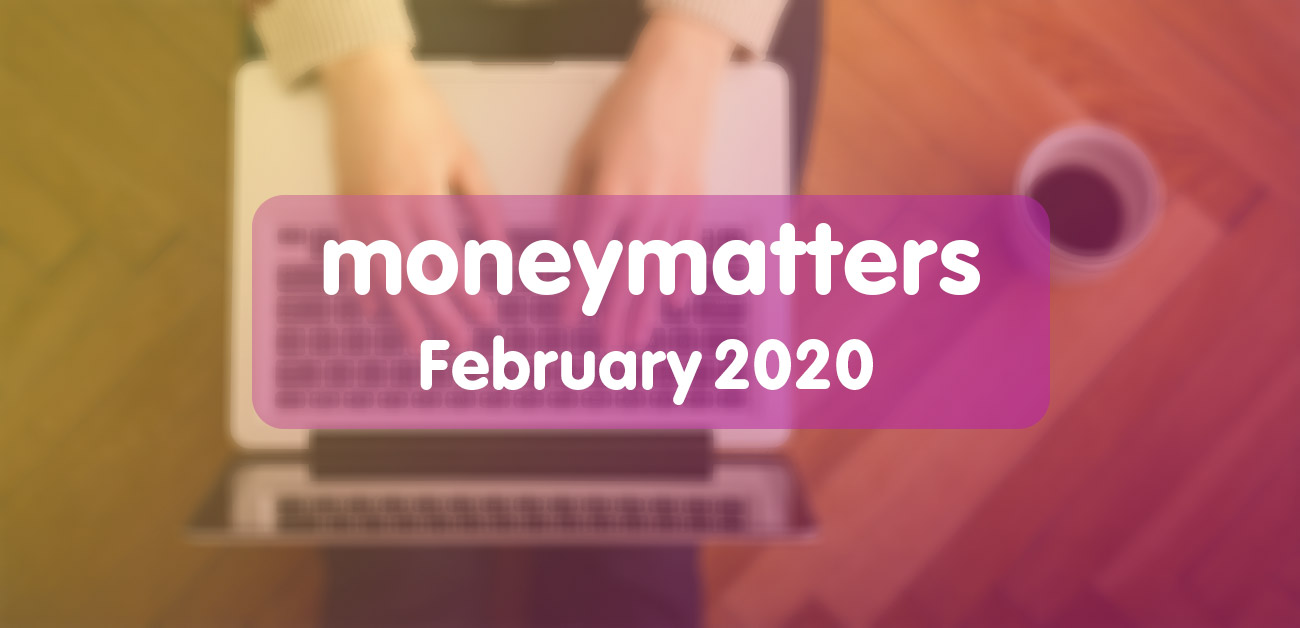 money matters feb 2020 image